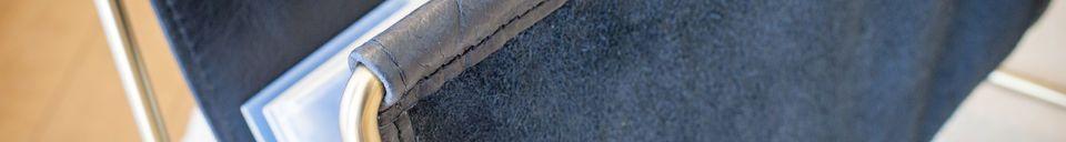 Materiali prima di tutto Porta riviste in pelle Liten Jorgen
