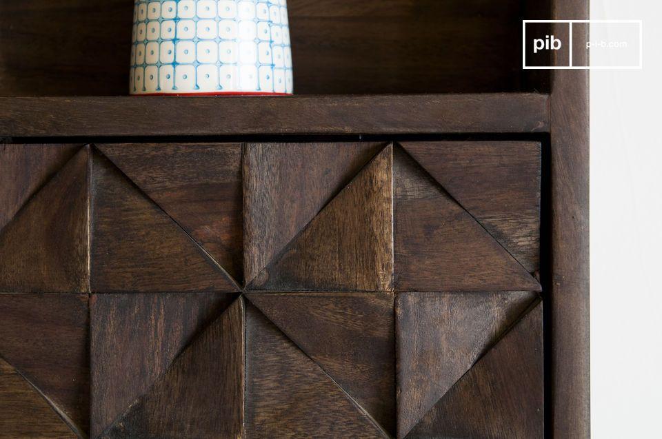 La scaffalatura da parete Balkis è un mobile tanto estetico quanto pratico