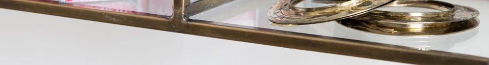 Materiali prima di tutto Scaffale da muro del Collezionista
