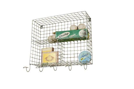 Scaffali a cesta con appendini Foto ritagliata