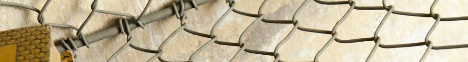 Materiali prima di tutto Scaffaliera da muro con 5 scompartimenti