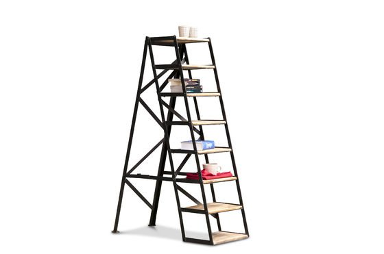 Scaletta D'Atelier a 8 scalini Foto ritagliata