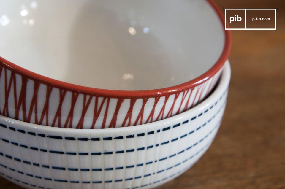 Le 6 scodelle Grite porteranno un tocco di stile scandinavo alla vostra colazione