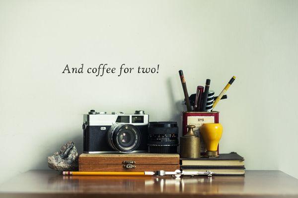 scrivania e accessori vintage
