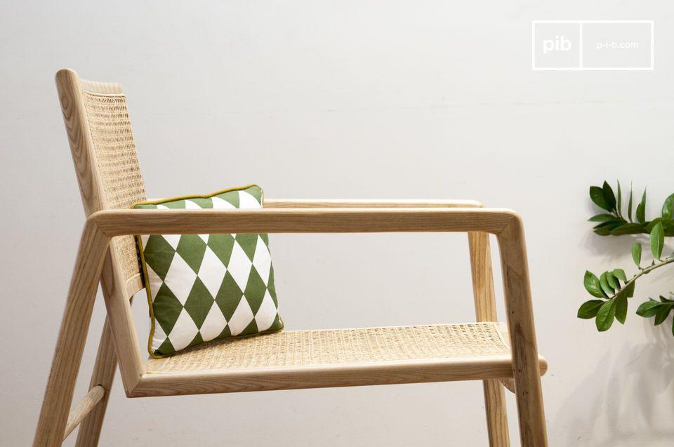 Una sedia a dondolo per festeggiare il ritorno della canna