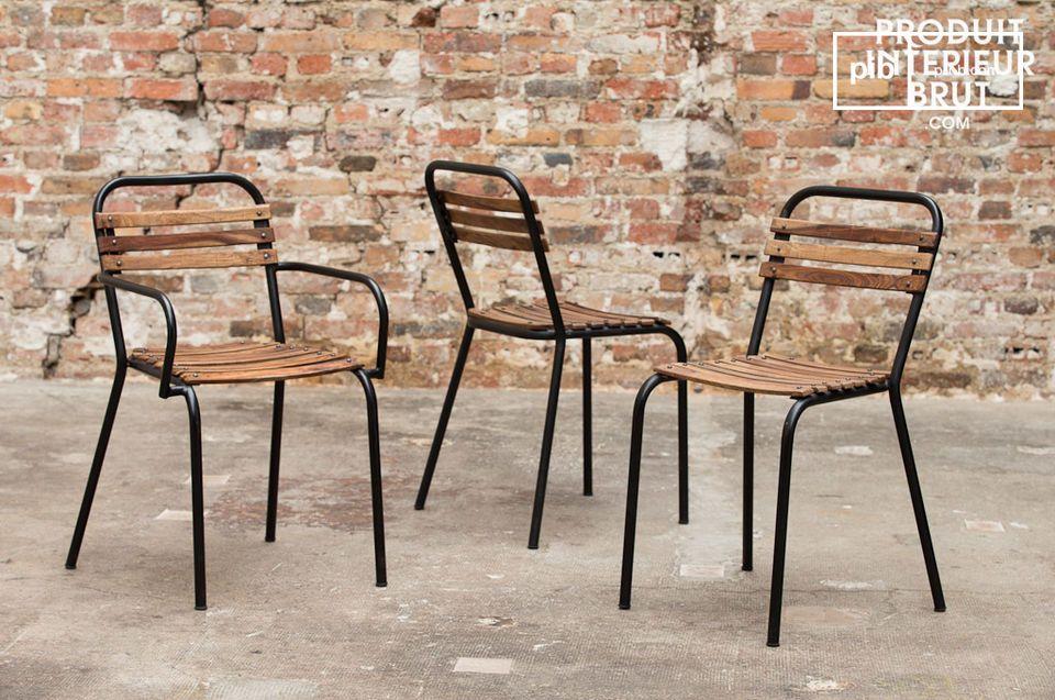 Potete posizionare la sedia Mistral nella vostra sala da pranzo