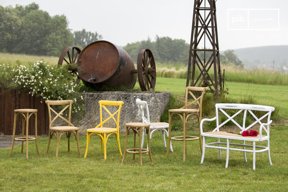 Vendita Sgabelli Da Bar In Legno : Sedia da bar pampelune legno robusta pratica pib