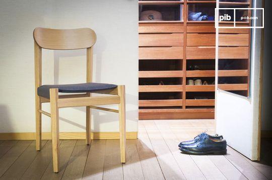 Sedia in legno chiaro Elena
