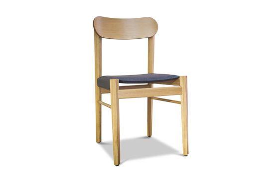 Sedia in legno chiaro Elena Foto ritagliata