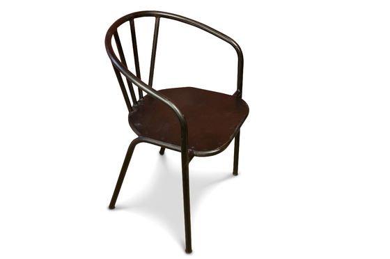 Sedia in metallo Brienon Foto ritagliata