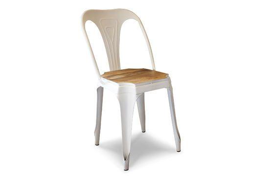 Sedia in metallo e legno Multipl's Foto ritagliata