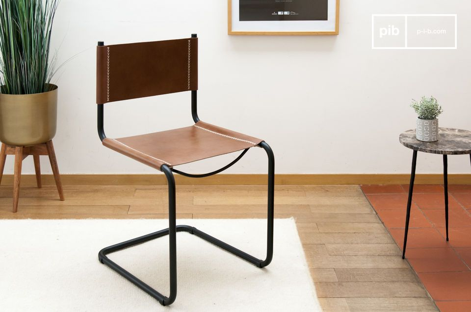 Sedie Pelle Design.Sedia In Pelle Whitechapel