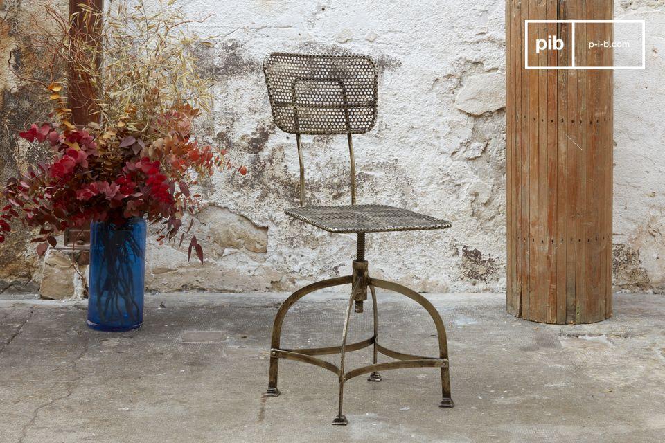 100% sedia girevole in metallo