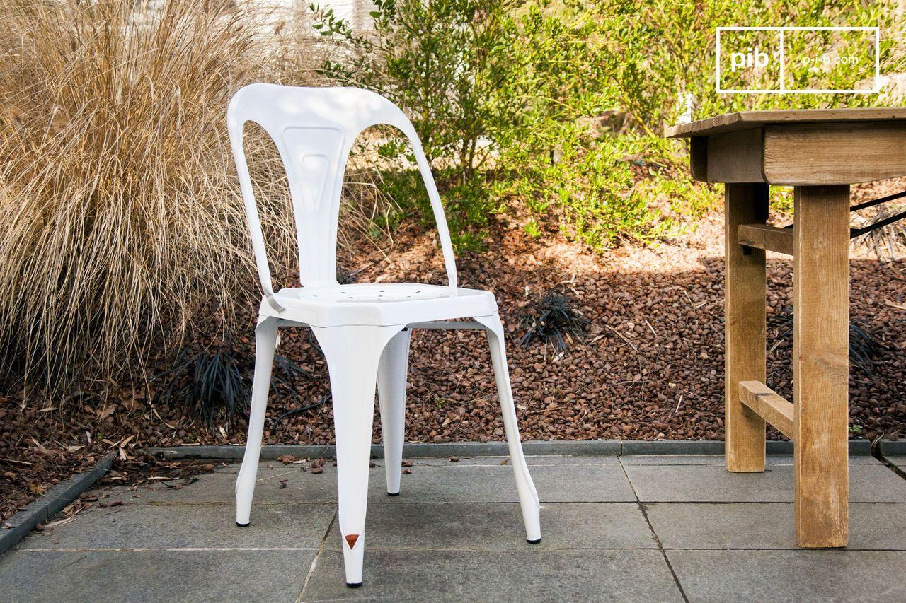 Top sedia multiplus bianca with sedie anni 50 for Sedia anni 50 design