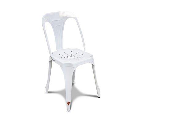 Sedia Multipl's bianca Foto ritagliata