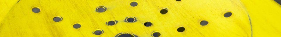 Materiali prima di tutto Sedia Multipl's gialla