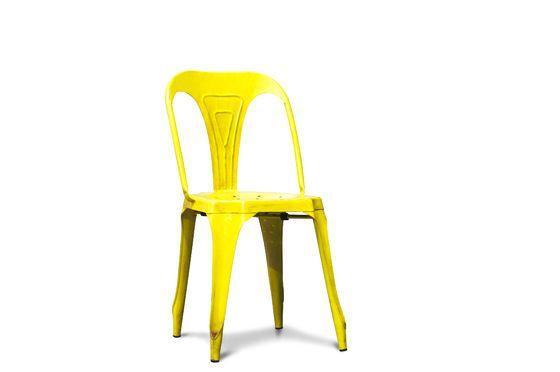 Sedia Multipl's gialla Foto ritagliata