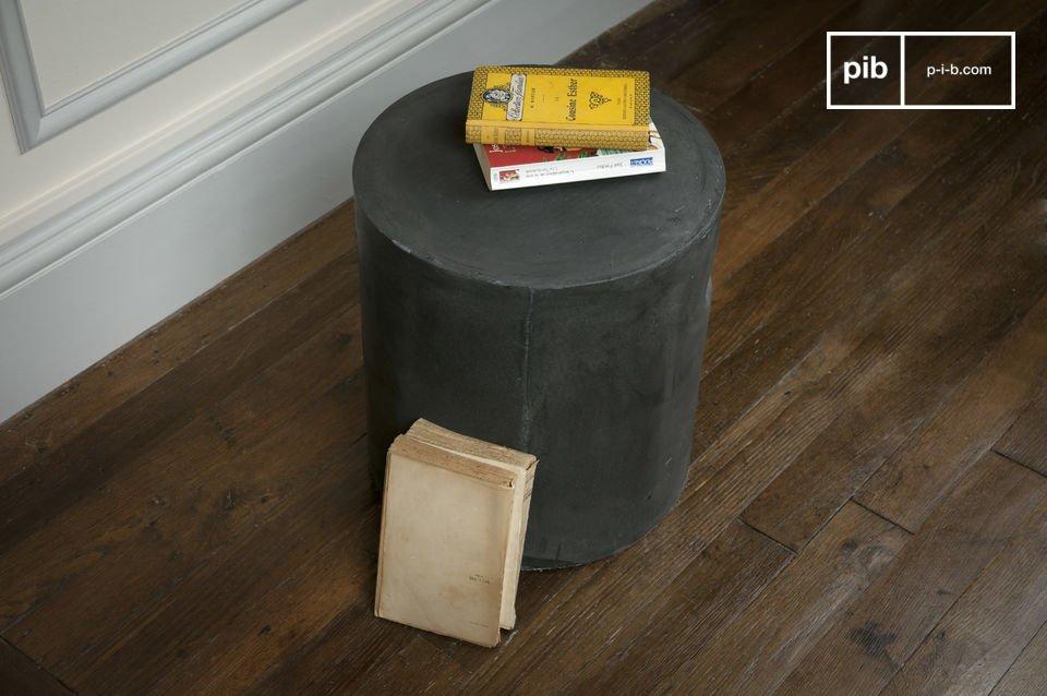 Questo blocco cilindrico di resina, fibra e cemento si presta a molti usi diversi