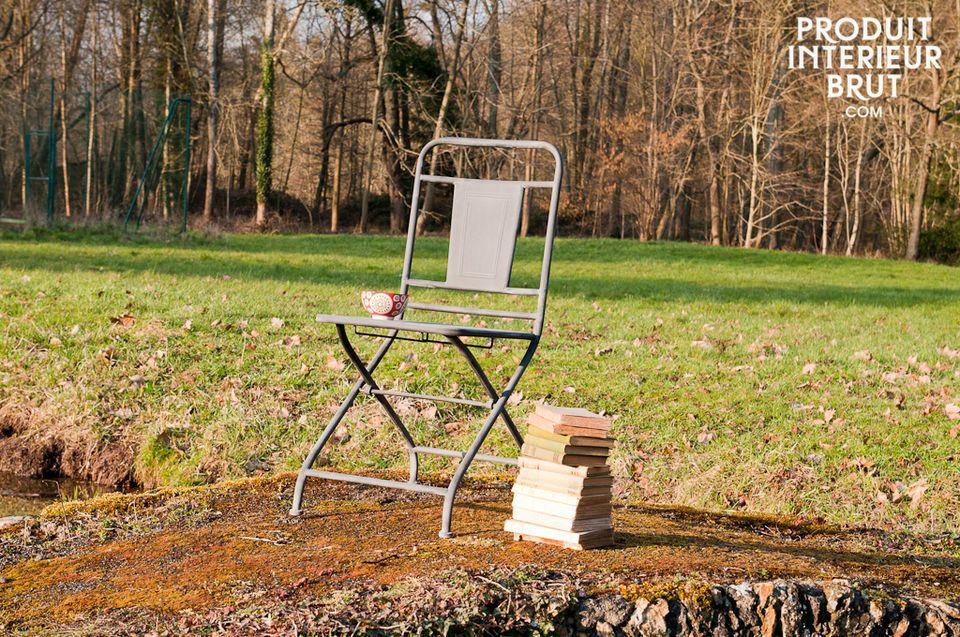Una sedia pieghevole perfetta per ogni ambiente
