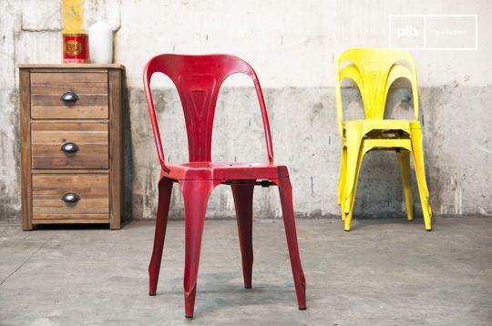 Sedia rossa Multipl's