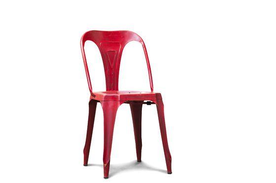 Sedia rossa Multipl's Foto ritagliata