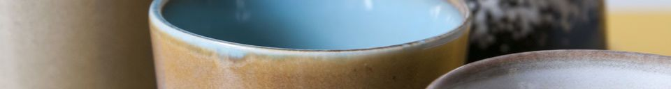 Materiali prima di tutto Sei tazzine da caffé Ceramix