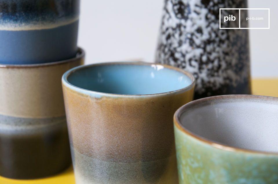 Questo design vintage contribuirà a rendere ancora più piacevole la vostra pausa caffé