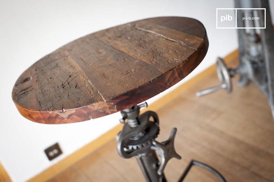 Un tocco di giocoso stile industriale per il tuo tavolo alto