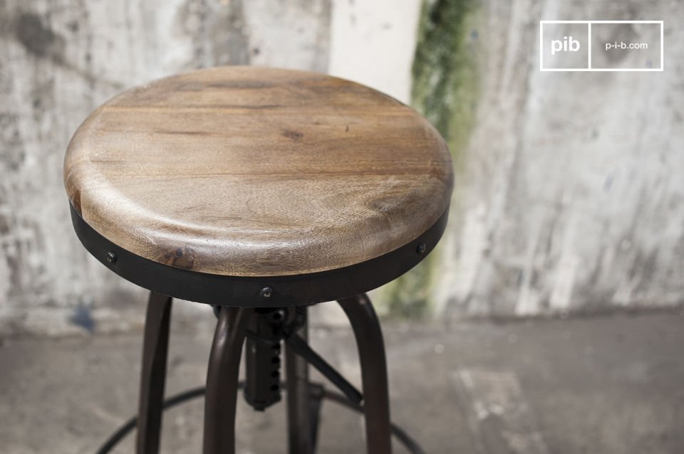 Sgabello Design Industriale : Sgabello da bar new western stile vintage pib