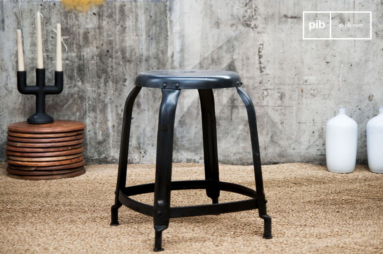 Mid century industrial bar stools s set of for sale at pamono