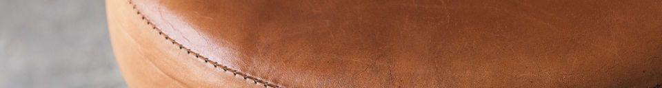 Materiali prima di tutto Sgabello del sarto (in cuoio)