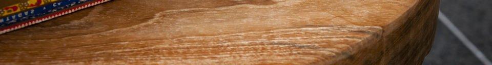 Materiali prima di tutto Sgabello in legno Maverick