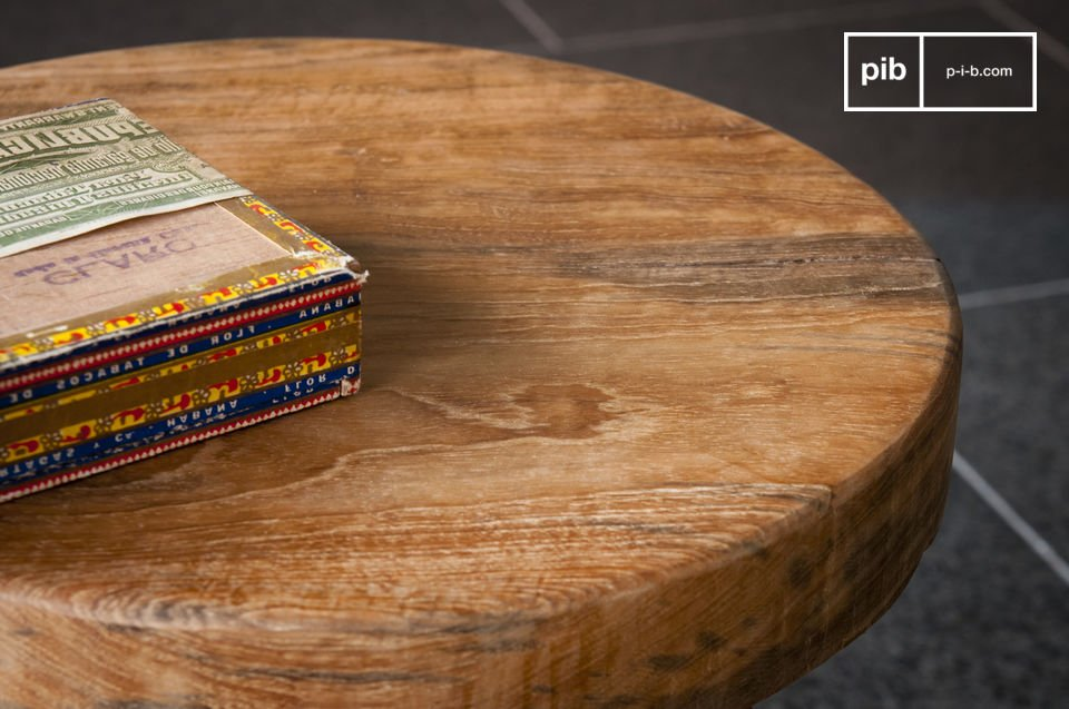 Tavolino o sgabello occasionale in teak