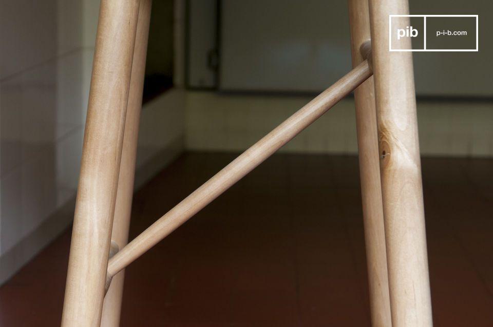 Bella antico sedia officina sgabello in legno old vintage eur