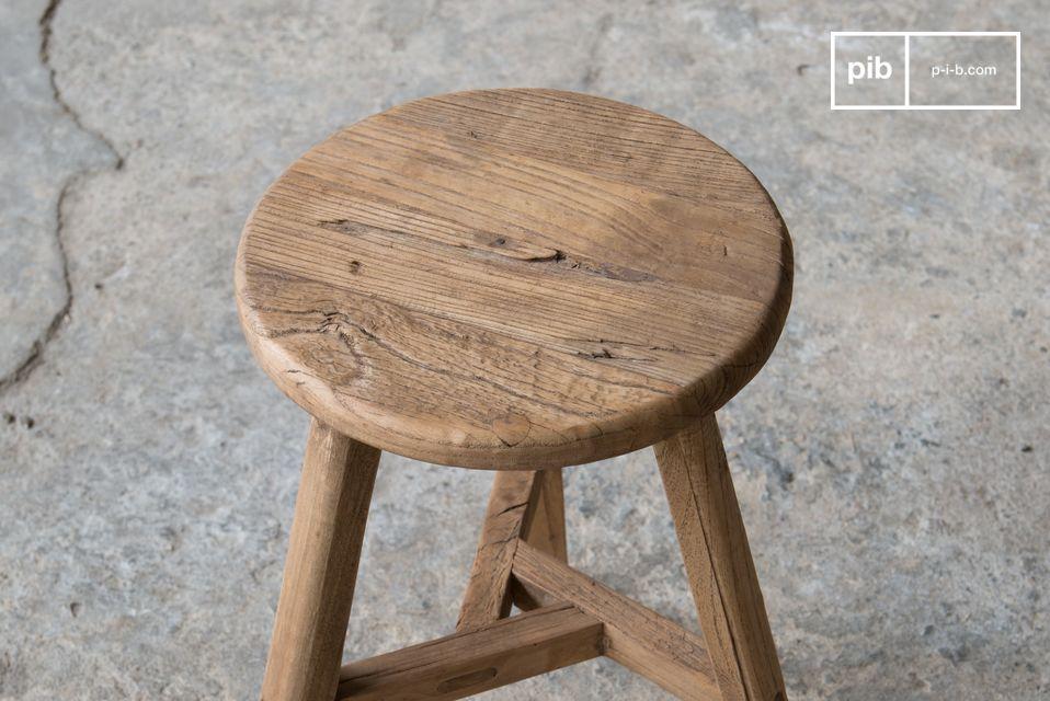 100% legno di olmo antico, ogni pezzo è unico