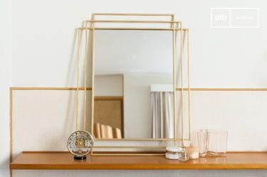 Specchio Alma dorato