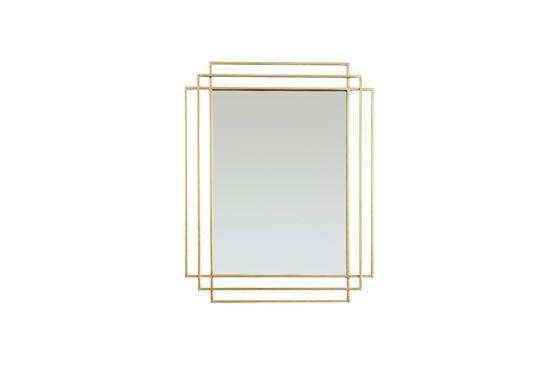 Specchio Alma dorato Foto ritagliata