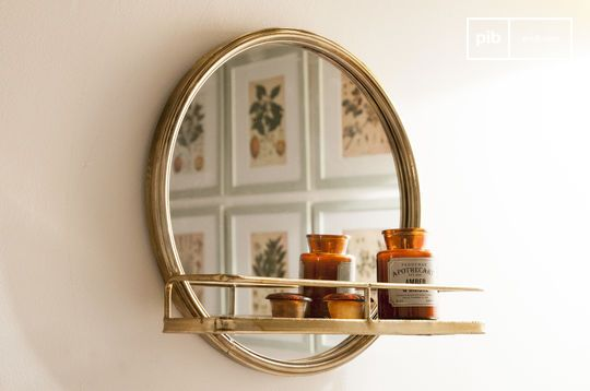 Specchio con mensola Clémentine