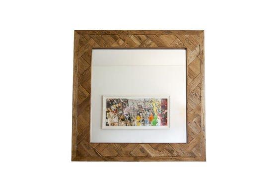 Specchio di legno Queens Foto ritagliata