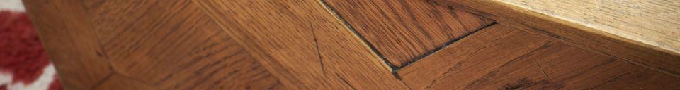 Materiali prima di tutto Specchio di legno Queens
