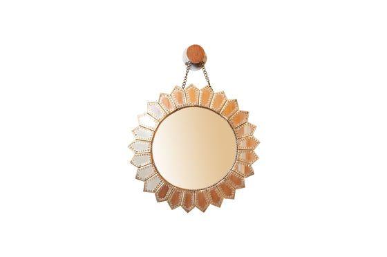 Specchio d'ottone Aurinko Foto ritagliata