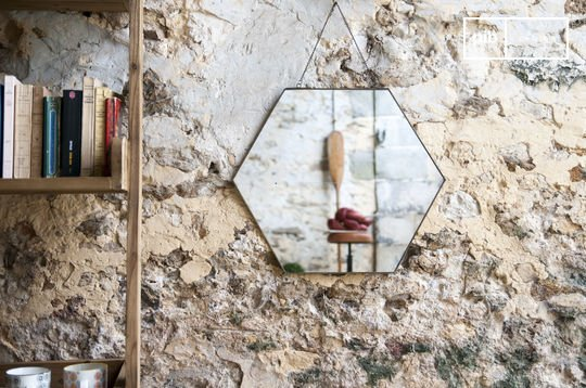 Specchio esagonale Solliès-Pont