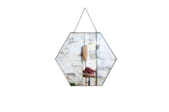 Specchio esagonale Solliès-Pont Foto ritagliata