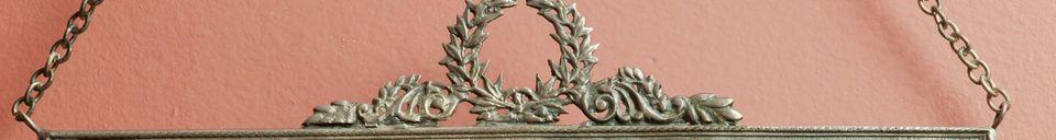 Materiali prima di tutto Specchio Flèche de Bronze