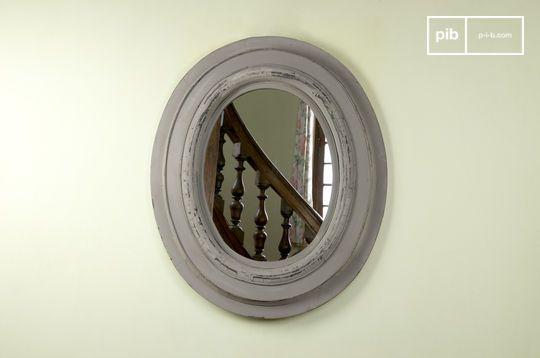 Specchio in legno Napoleone