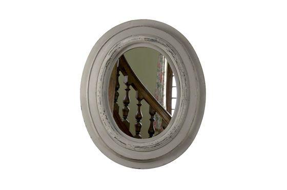 Specchio in legno Napoleone Foto ritagliata
