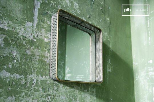 Specchio in metallo Olonne