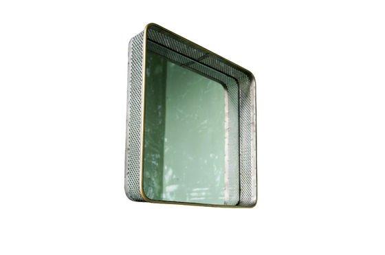 Specchio in metallo Olonne Foto ritagliata