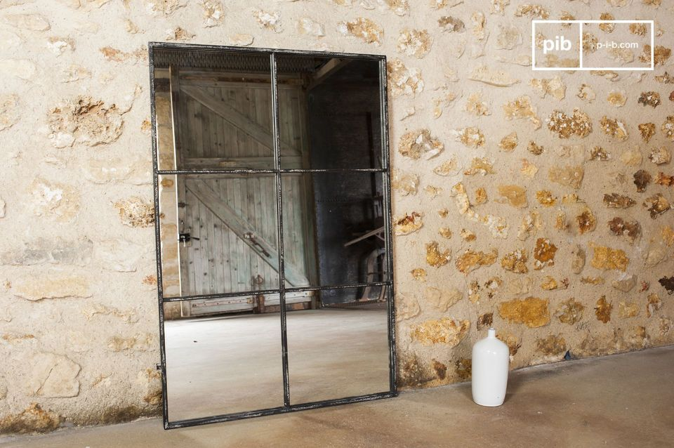 Specchio industriale 6 sezioni