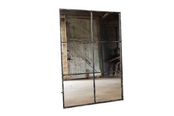 Specchio industriale a sei sezioni Foto ritagliata
